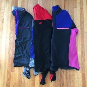 Vintage Ski Snowboard Quarter Zip Jackets Nike